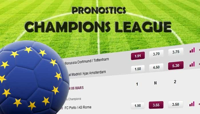 Guide ultime du pronostic Champions League !